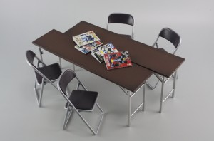 56_meeting room desk and chair ( HASEGAWA 1-12 )
