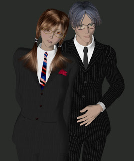 Poser Michael3 , Victoria3, Stephanie3 セルシェーダー/セルシェーディング (Michael3 , Victoria3, Stephanie3 - cel-shading) 01