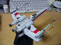 Finemolds 1/72 スターウォーズ Xウィング -08  (Star Wars X-Wing Fighter -08)