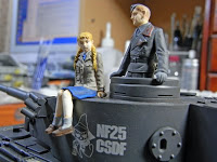 戦車兵 (TAMIYA MM Commander + Aurora Model League of German Maidens)-4