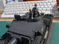 戦車兵 (TAMIYA MM Commander + Aurora Model League of German Maidens)-2
